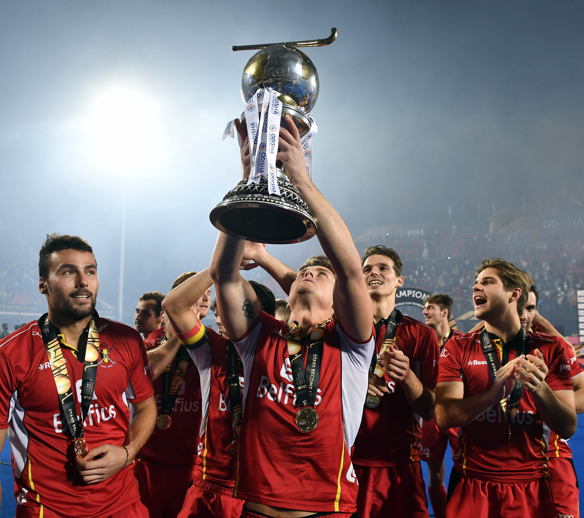 There have been 14 me;'s Hockey World Cups and Belgium are the reigning champions ©Getty Images