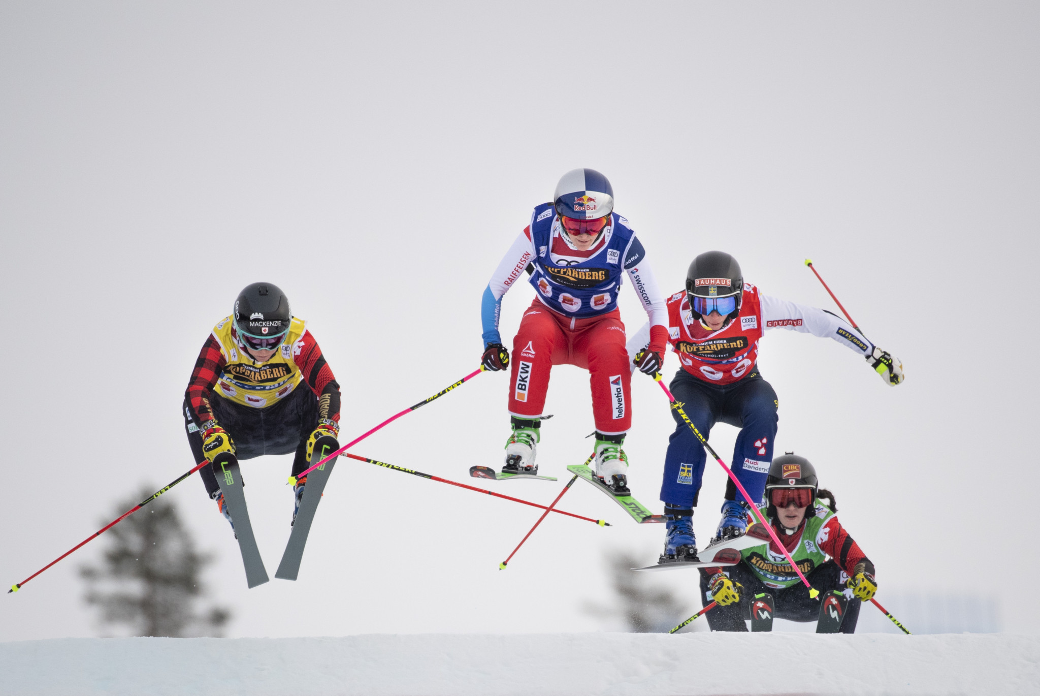 Ski cross competition is set to take place on the final day of the World Championships ©Getty Images