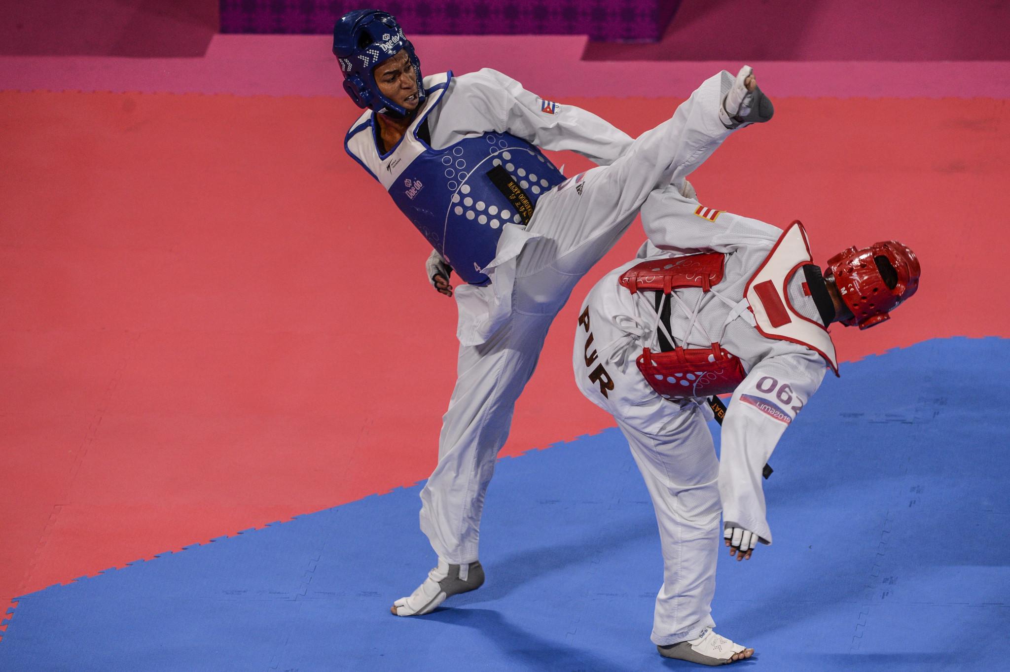 Peru won three taekwondo medals and two Para-taekwondo medals at Lima 2019 ©Getty Images