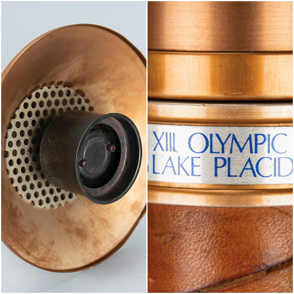 A rare Olympic Torch from Lake Placid 1984 is among other items up for auction ©RR Auction