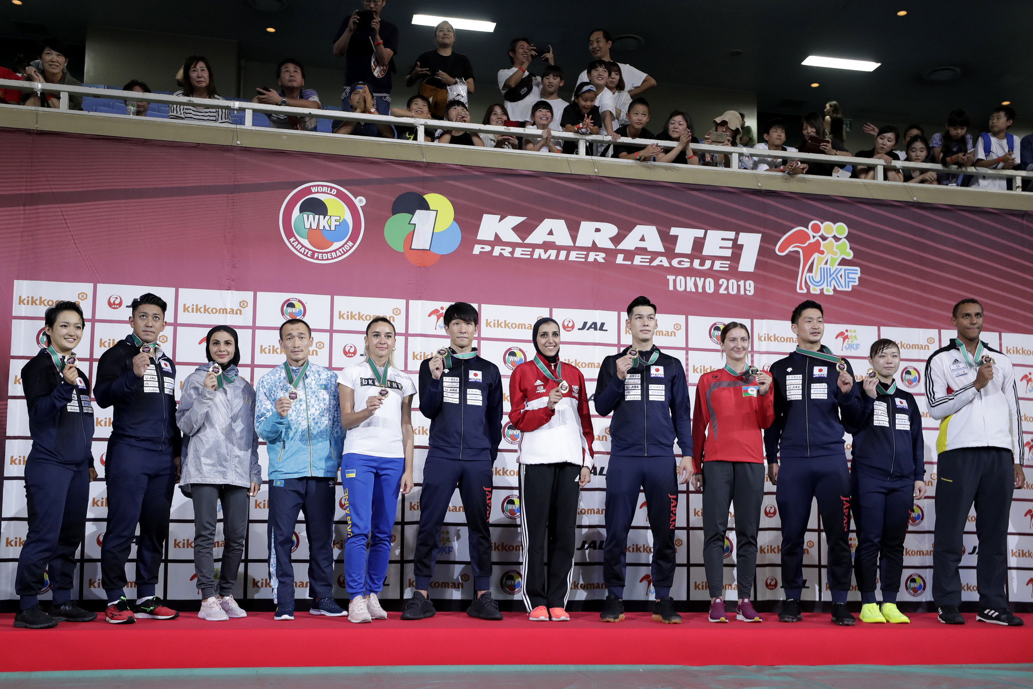Five stops are scheduled on the Karate 1-Premier League circuit in 2021, while the sport is also due to make its debut at the Tokyo 2020 Olympics in August ©Getty Images