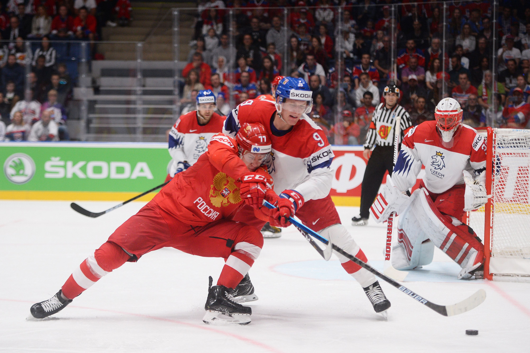 Sponsors such as Skoda had threatened to withdraw from the IIHF Men's World Championship if it remained in Belarus ©Getty Images