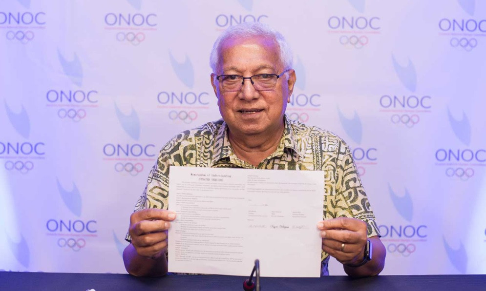 ONOC extends MoU with Japanese partners to help athletes prepare for Tokyo 2020