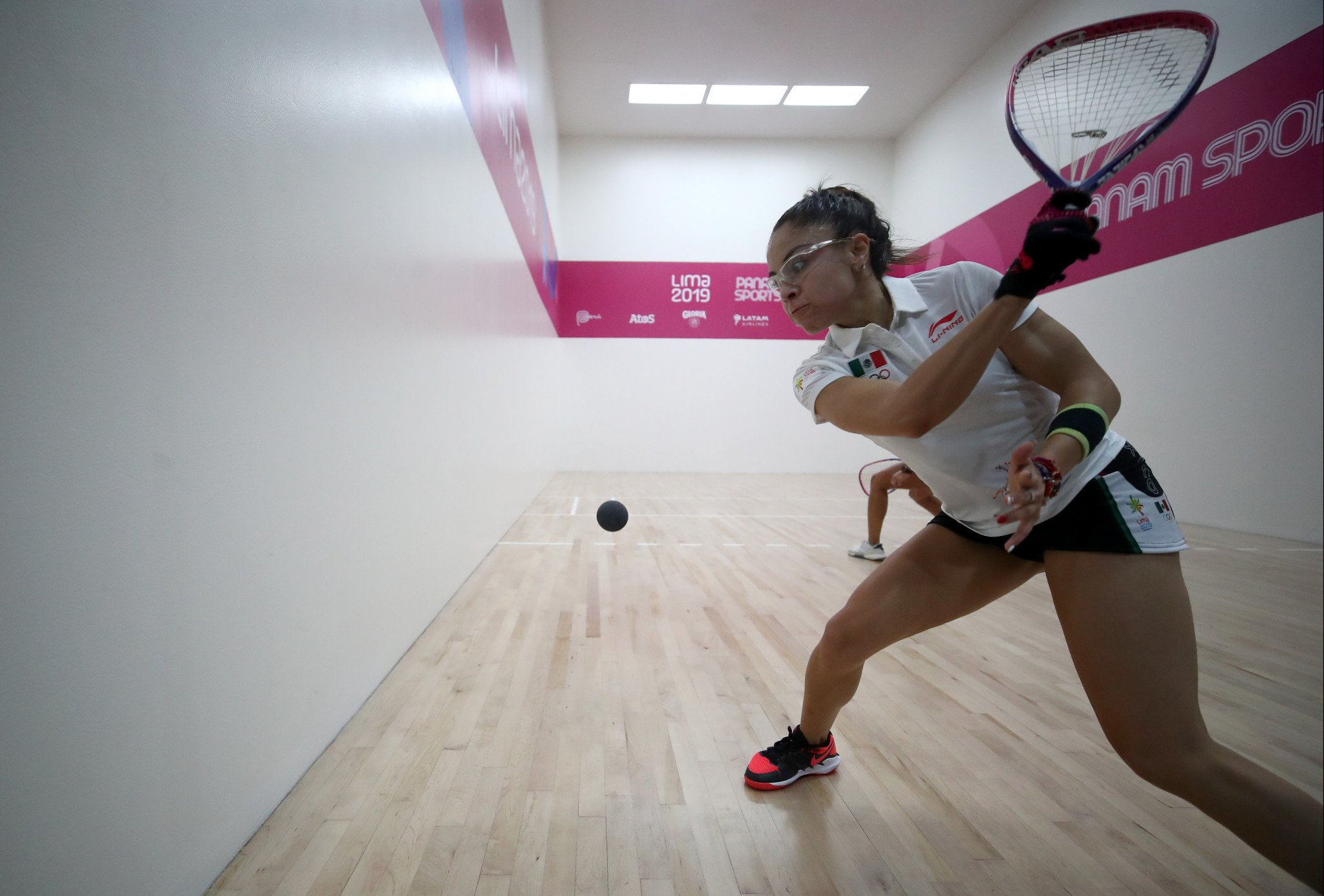 Mexican racquetball star Paola Longoria sits just outside the top three in the voting so far ©Getty Images