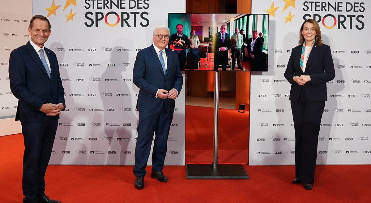Hannover club IcanDo eV won the DOSB Great Star of Sport award ©Twitter