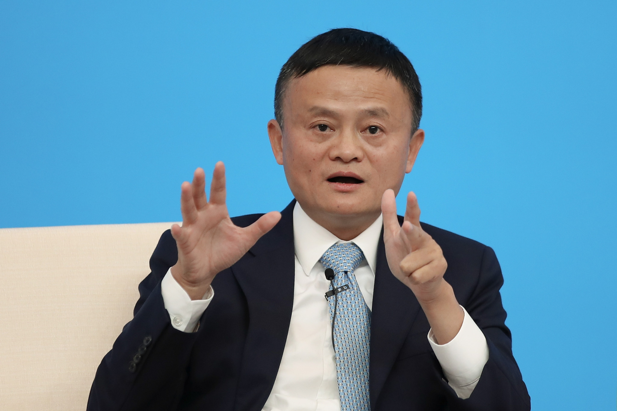 Key IOC sponsor Alibaba's Jack Ma reappears in new video