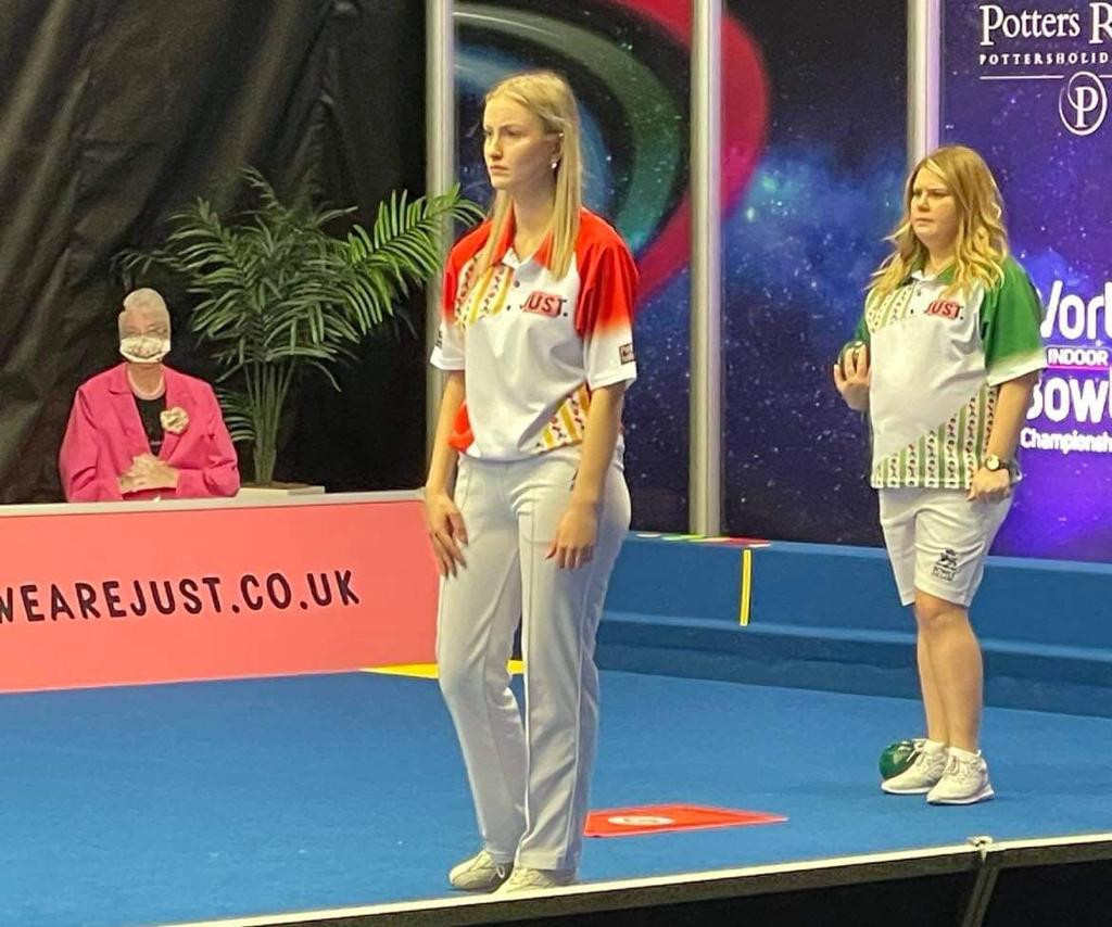 Former winners Rednall and Daniels reach World Indoor Bowls Championships women's singles final