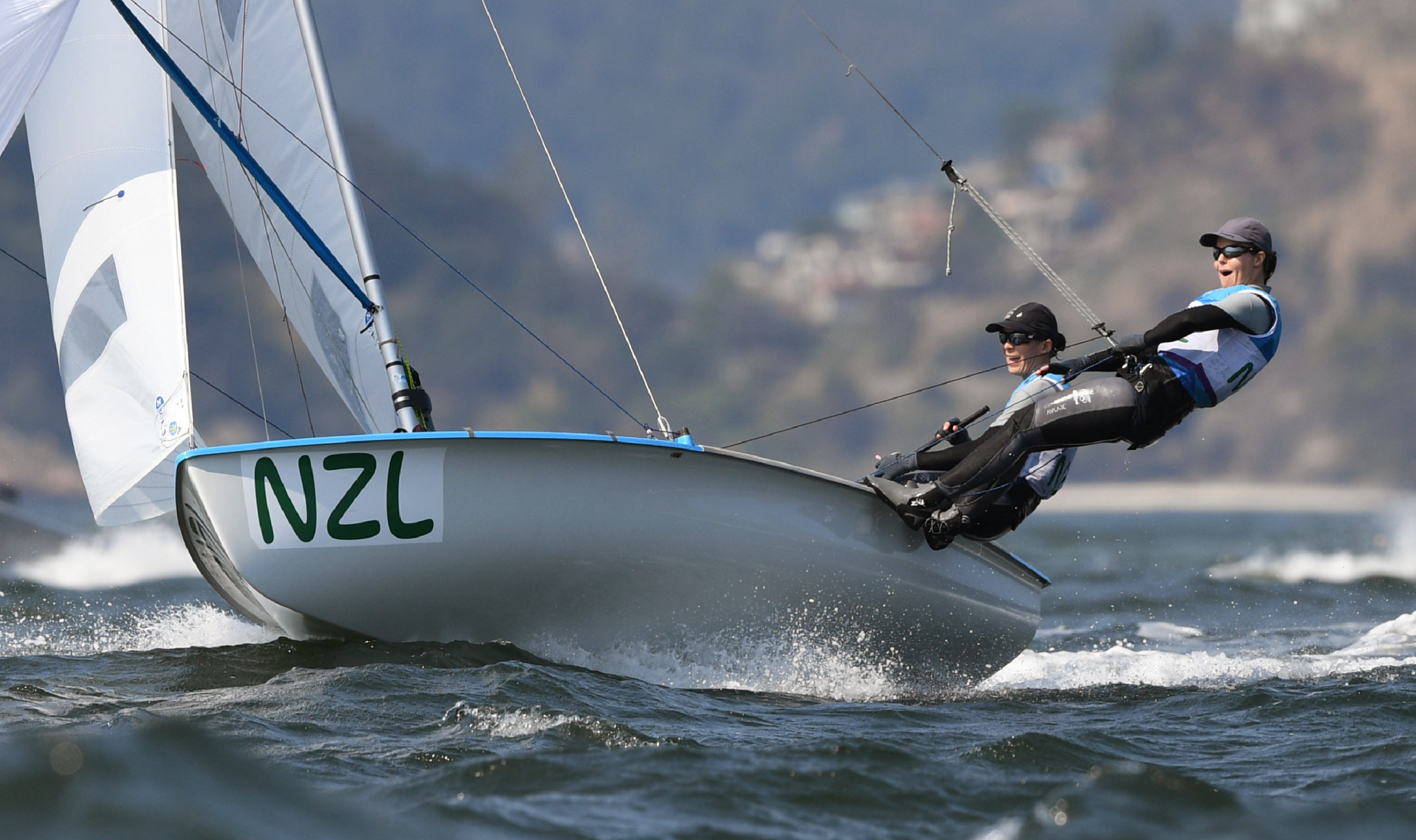 World Sailing Athletes' Commission chair Jo Aleh praised Sofia Bekatorou's brave decision to come forward ©Getty Images