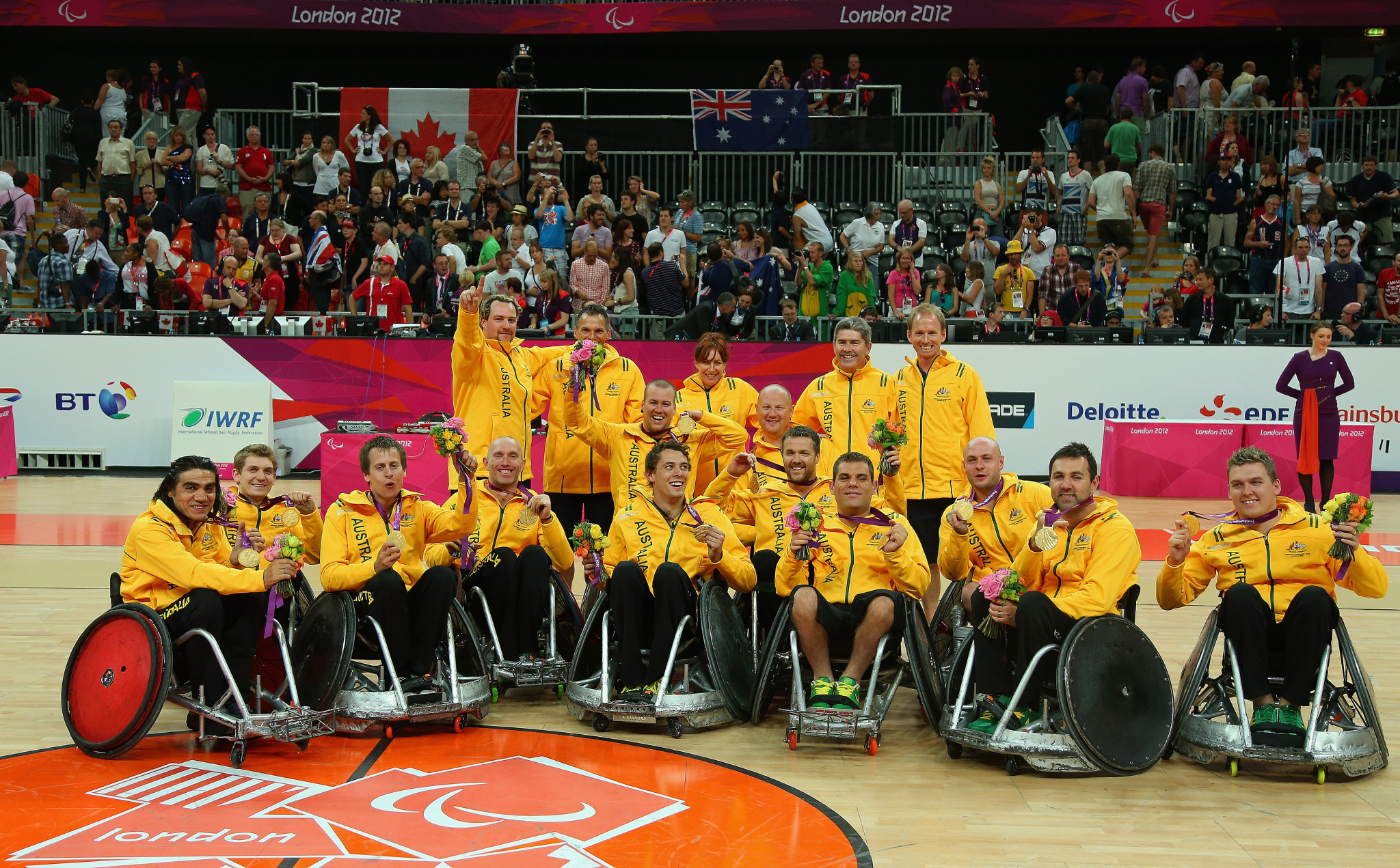 Australia won two wheelchair basketball silver medals at London 2012 ©Getty Images
