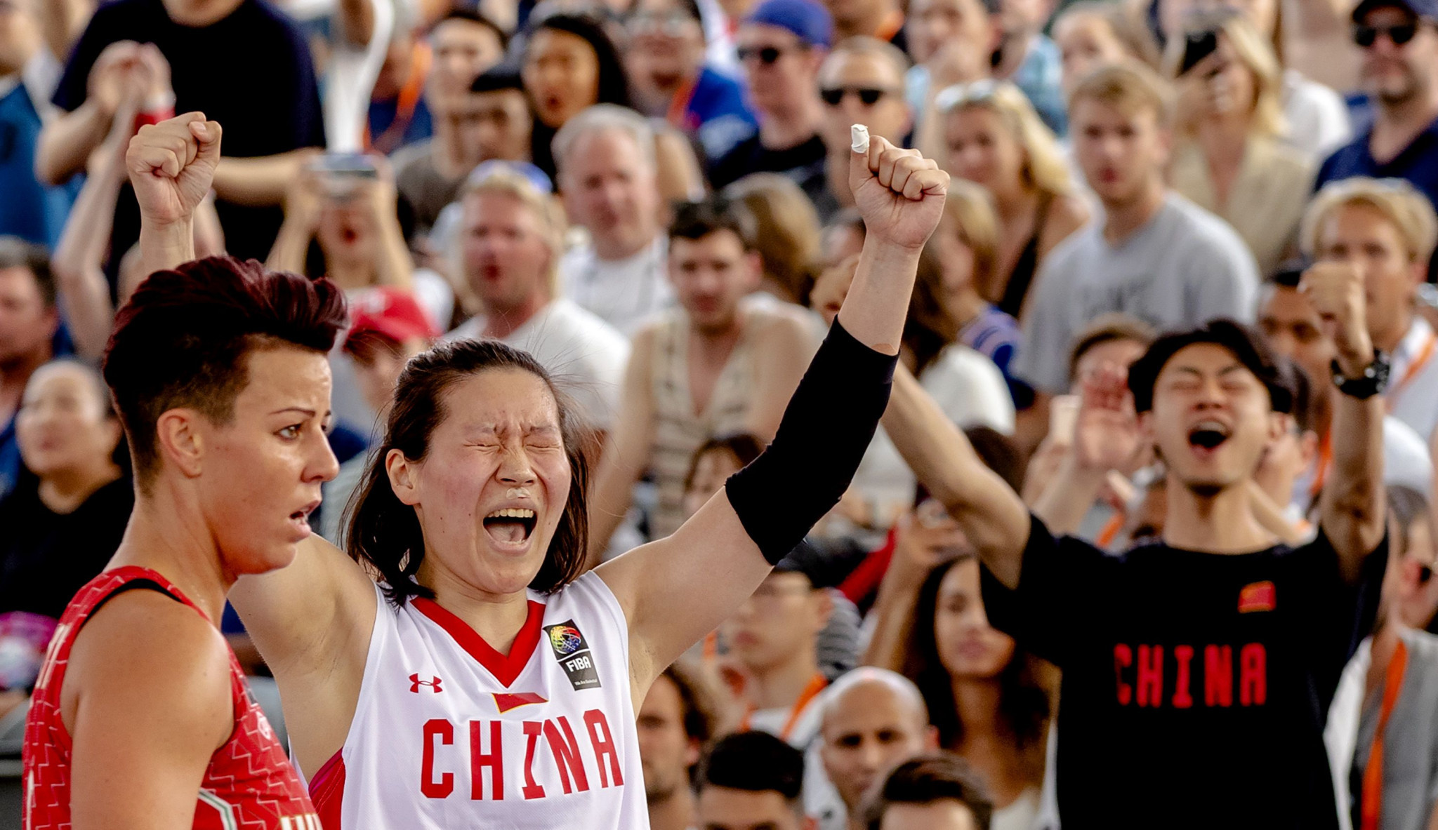 China are the reigning women's FIBA 3x3 World Cup champions ©Getty Images