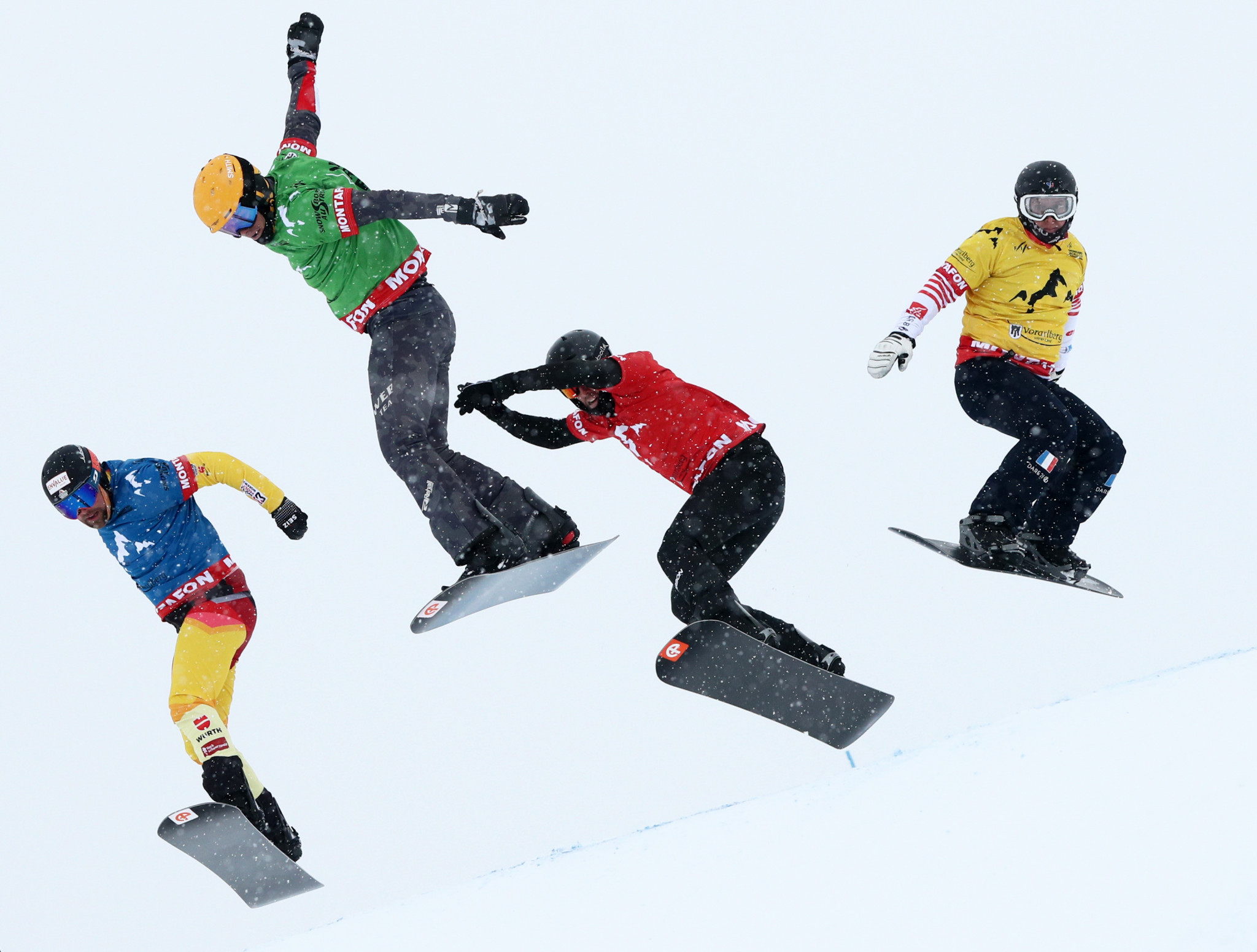 The FIS Snowboard Cross World Cup begins this weekend ©Getty Images