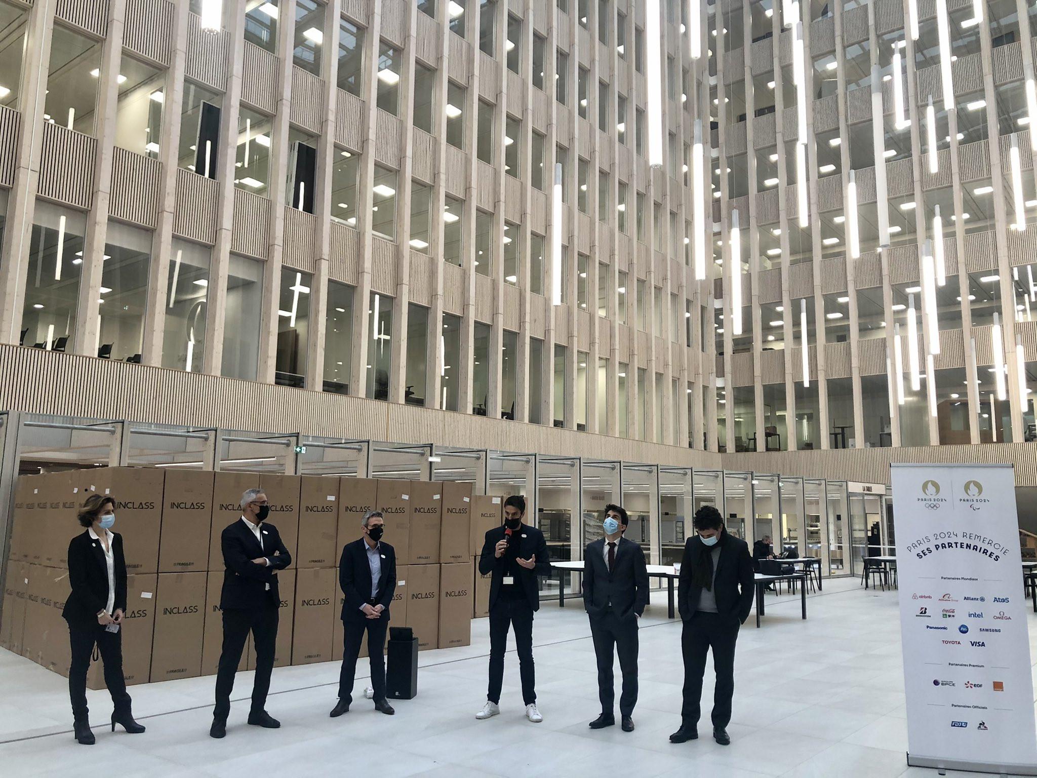Paris 2024 to move into sustainable headquarters in Saint-Denis