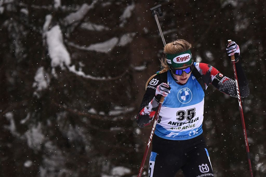 Hauser wins individual race to secure maiden IBU World Cup victory