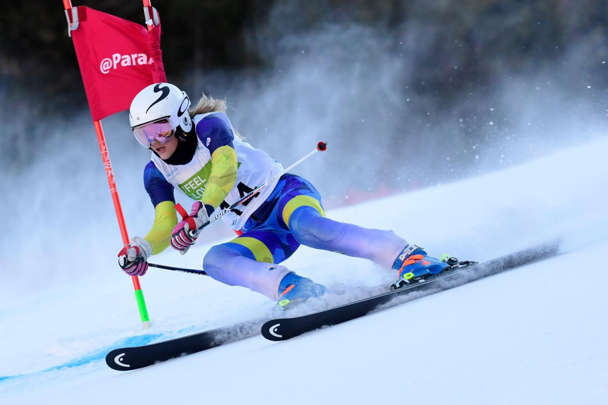 Aarsjoe earns second successive gold at World Para Alpine Skiing World Cup in Veysonnaz