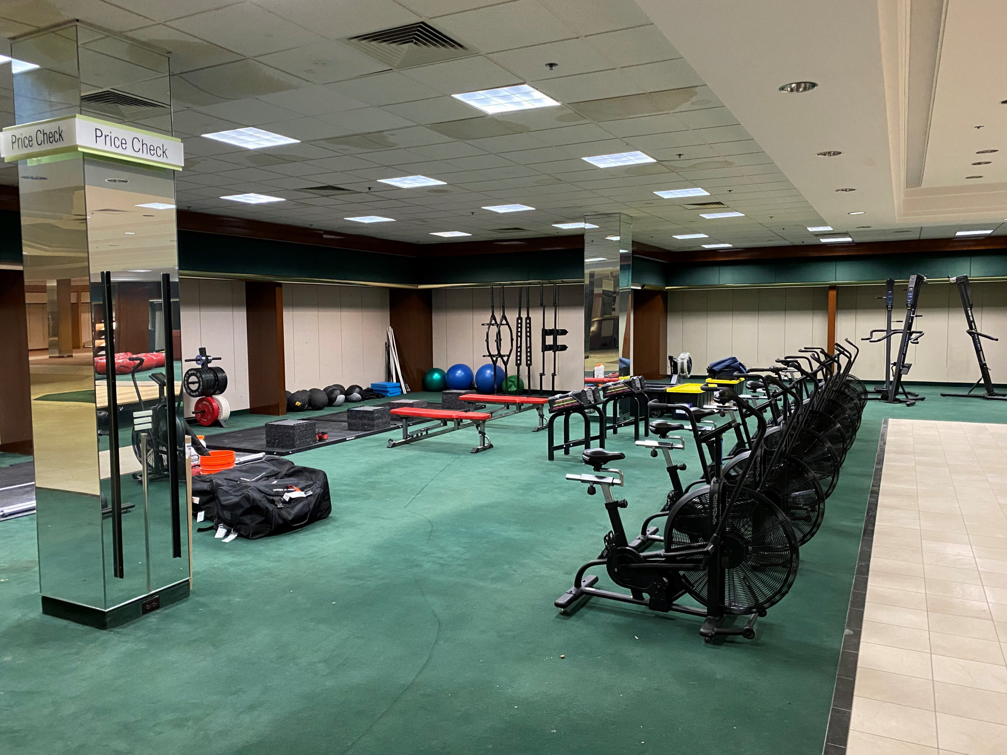 USA Boxing convert department store into training facility in preparation for Tokyo 2020