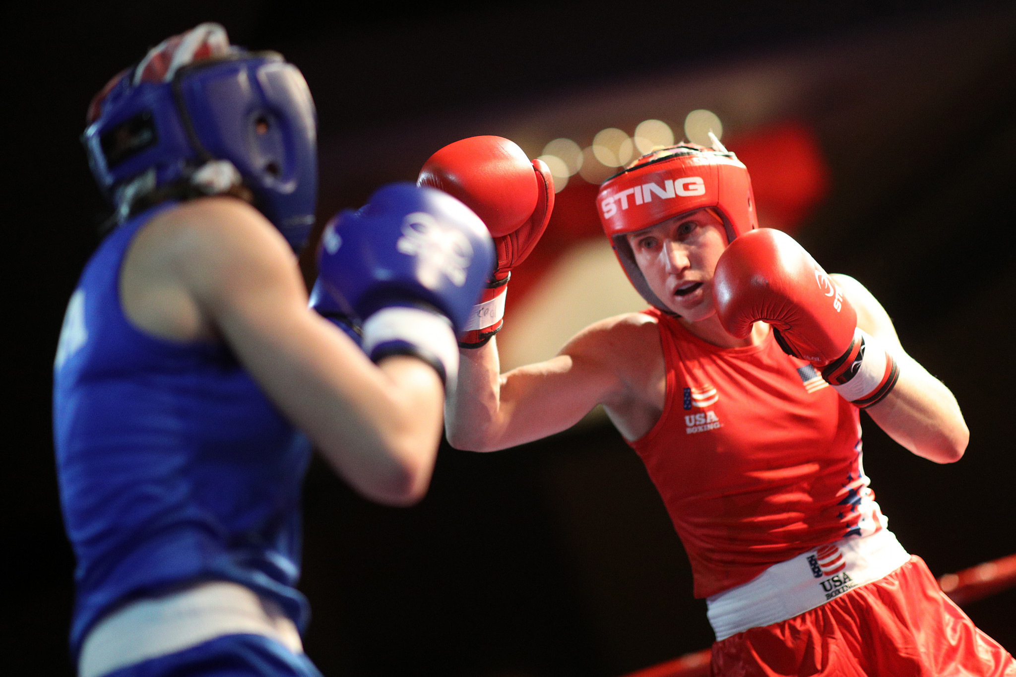 Virginia Fuchs is among the participants at the USA Boxing training camp ©USA Boxing