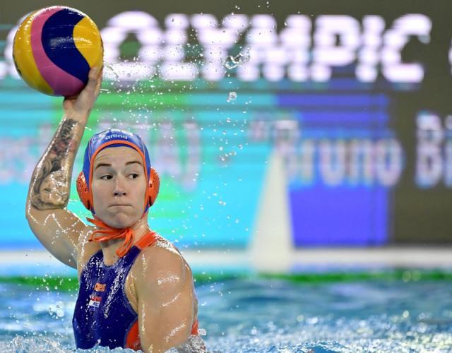 Οι Κάτω Χώρες νίκησαν τη Γαλλία, αλλά απέτυχαν στην πρώτη θέση του Ομίλου Α λόγω του κακού περιθωρίου © FINA