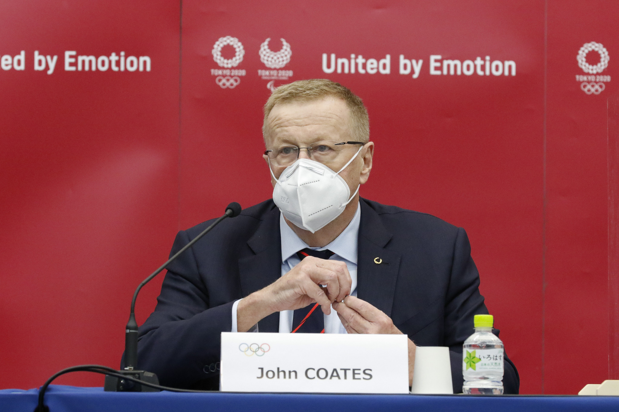 IOC vice-president and Tokyo 2020 Coordination Commission chair John Coates is among those to reject reports of Tokyo 2020 cancellation ©Getty Images