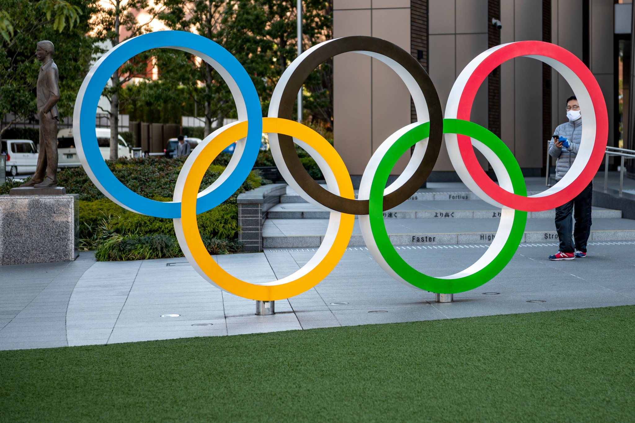 Japanese advertising company Dentsu is the marketing agency for Tokyo 2020 ©Getty Images