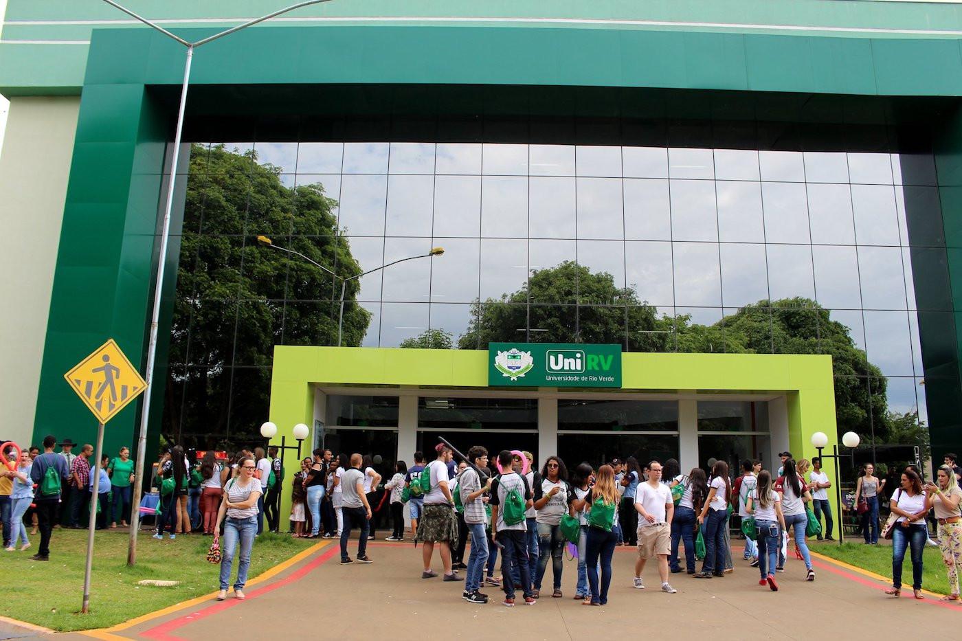 University of Rio Verde rector Alberto Barella was pleased to join a