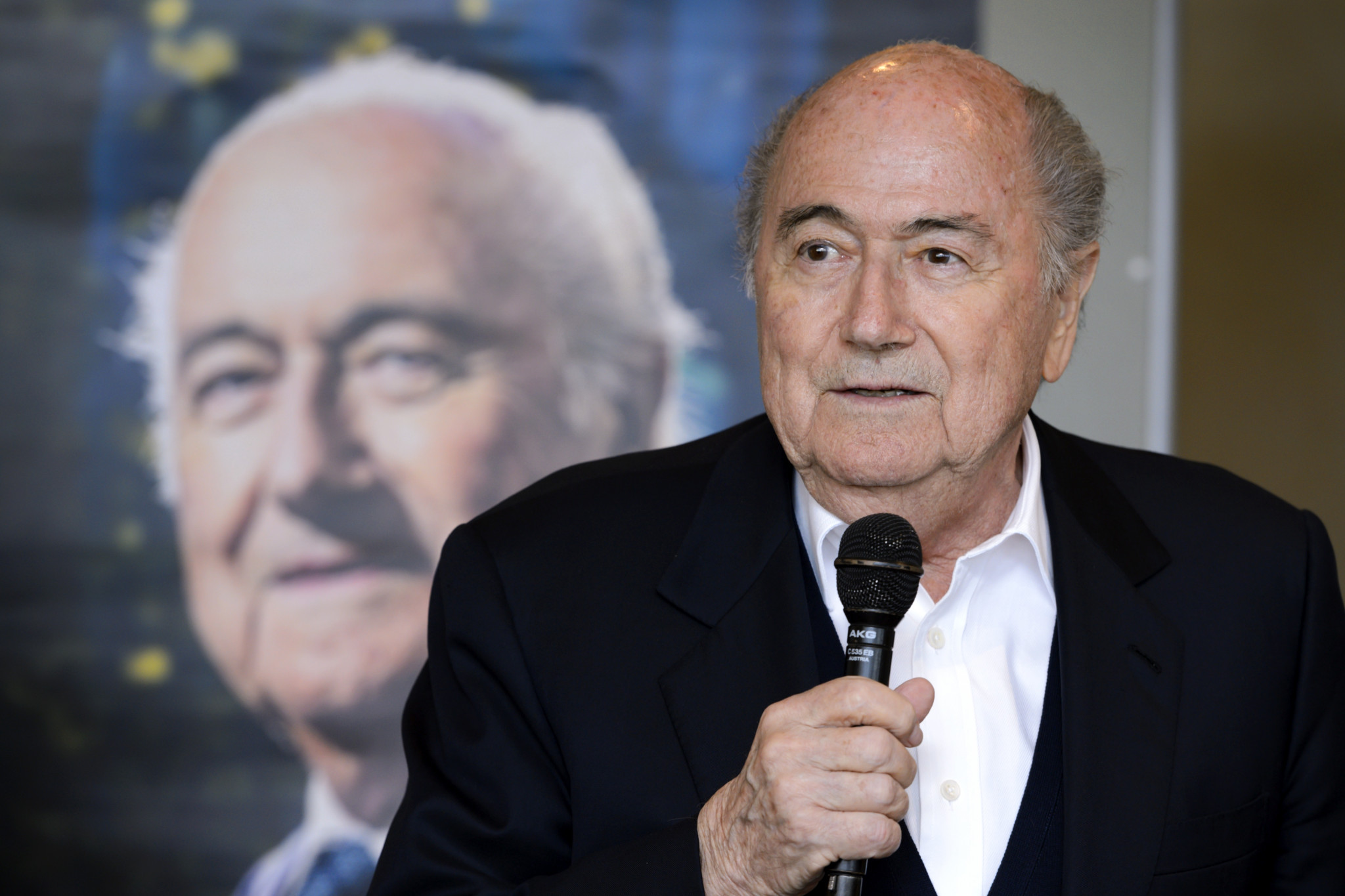 Former FIFA President Blatter spent period in induced coma after heart operation