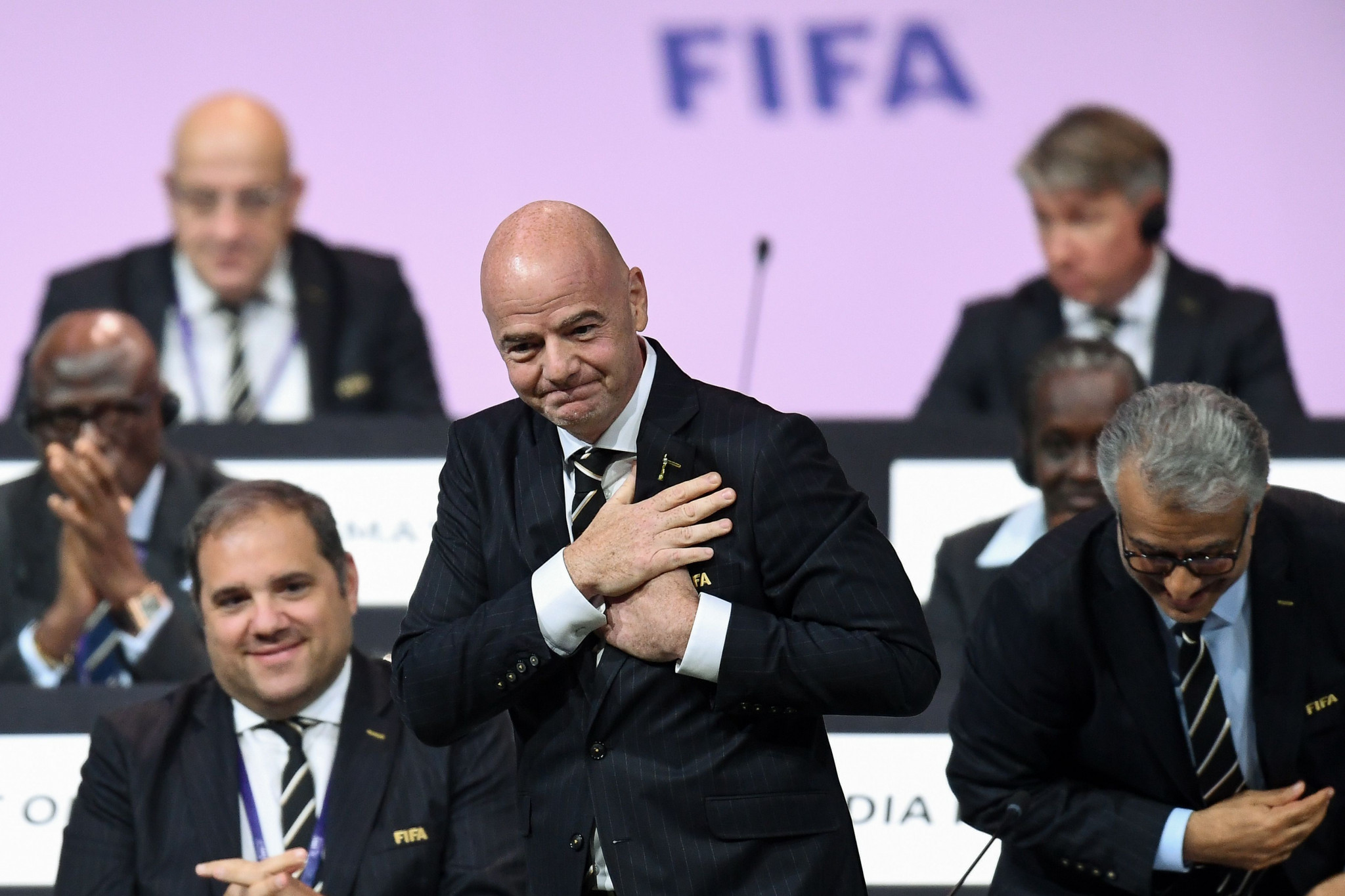 Corinne Blatter Andenmatten has hit out at FIFA President Gianni Infantino ©Getty Images
