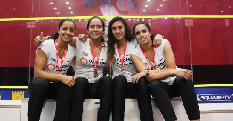 Egypt won the 2018 WSF Women's World Team Squash Championship ©WSF