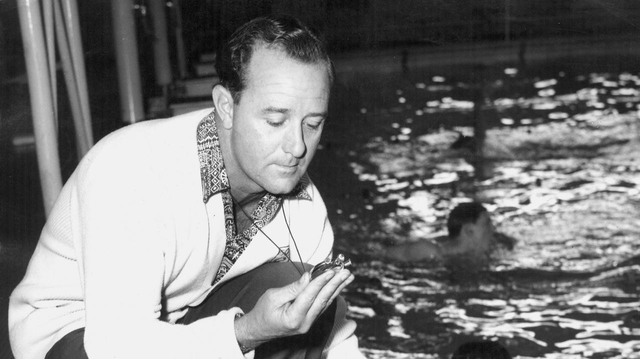AOC mourns death of legendary swimming coach Gallagher