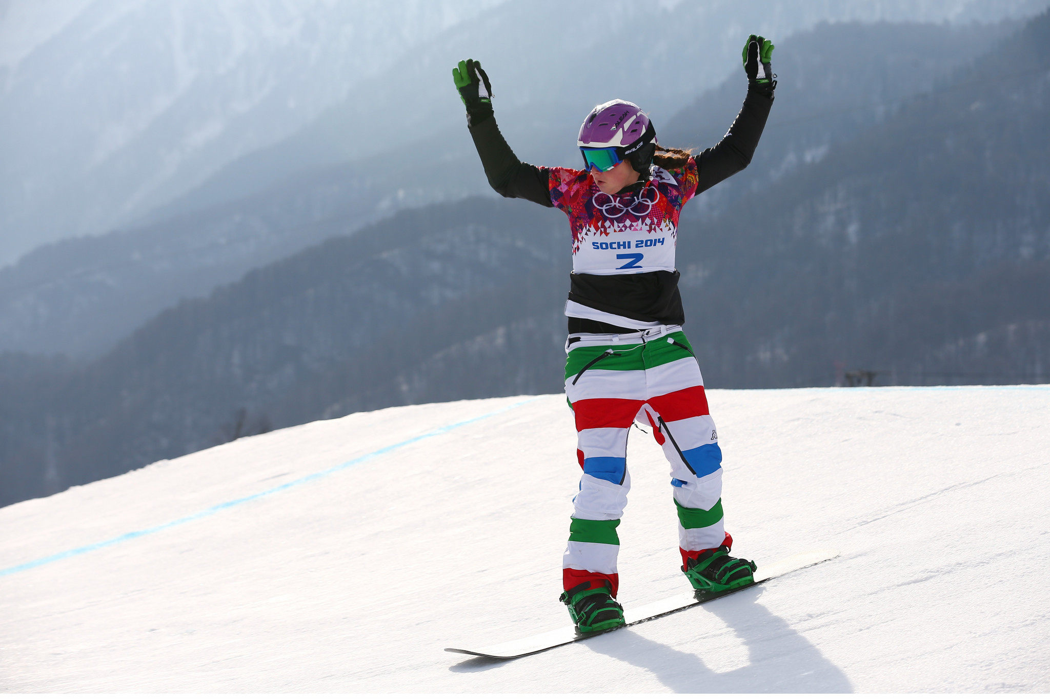 Raffaella Brutto looked dominant in women's qualifying ©Getty Images