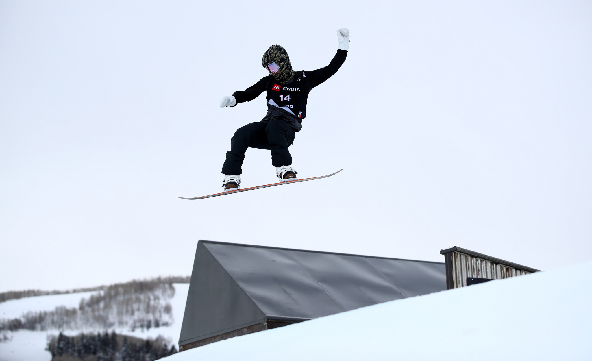 Niklas Mattsson had a day to remember as he won his first slopestyle World Cup in Laax ©Getty Images