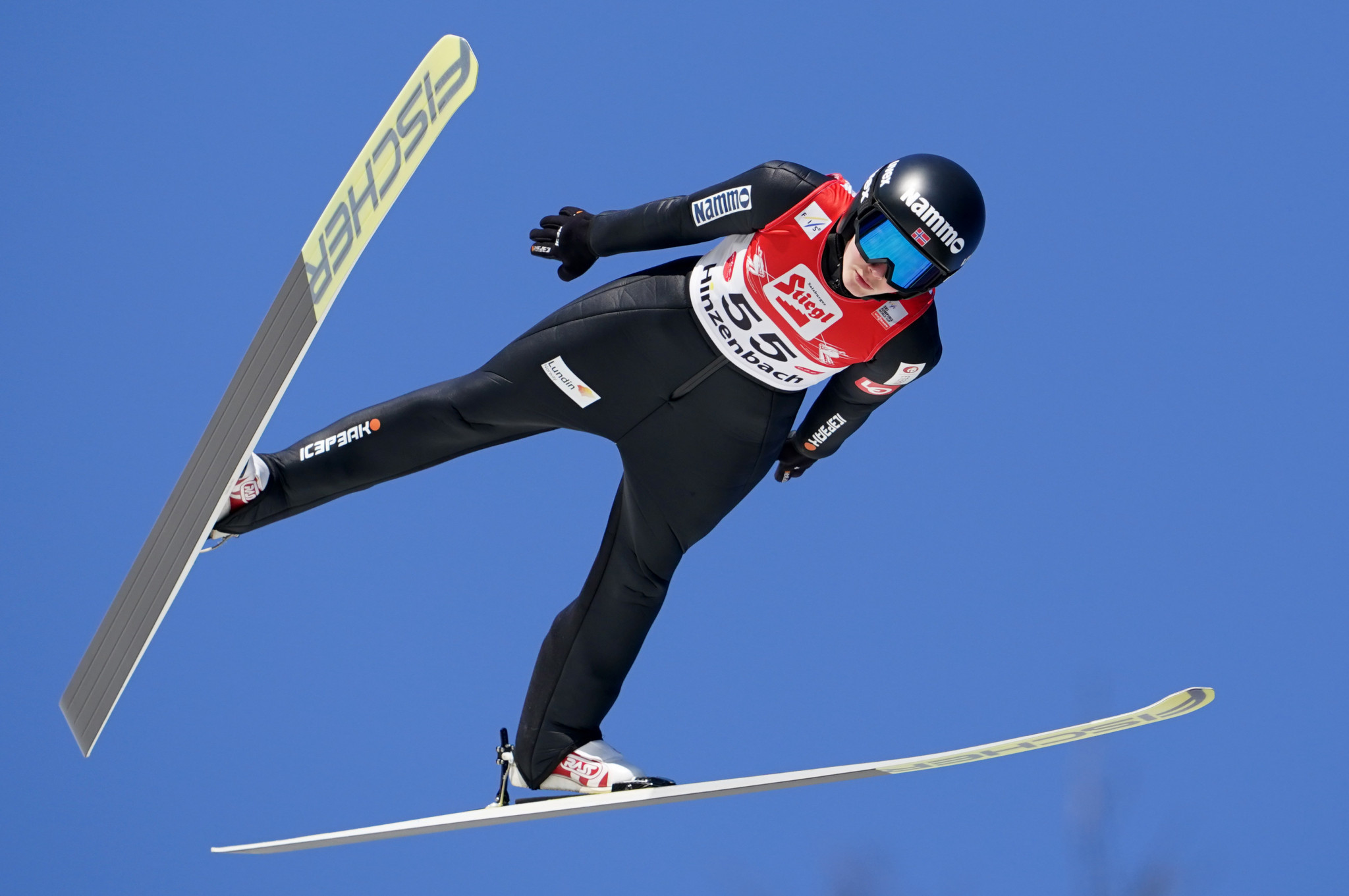 Silje Opseth topped qualifying at the FIS Ski Jumping World Cup in Ljubno ©Getty Images