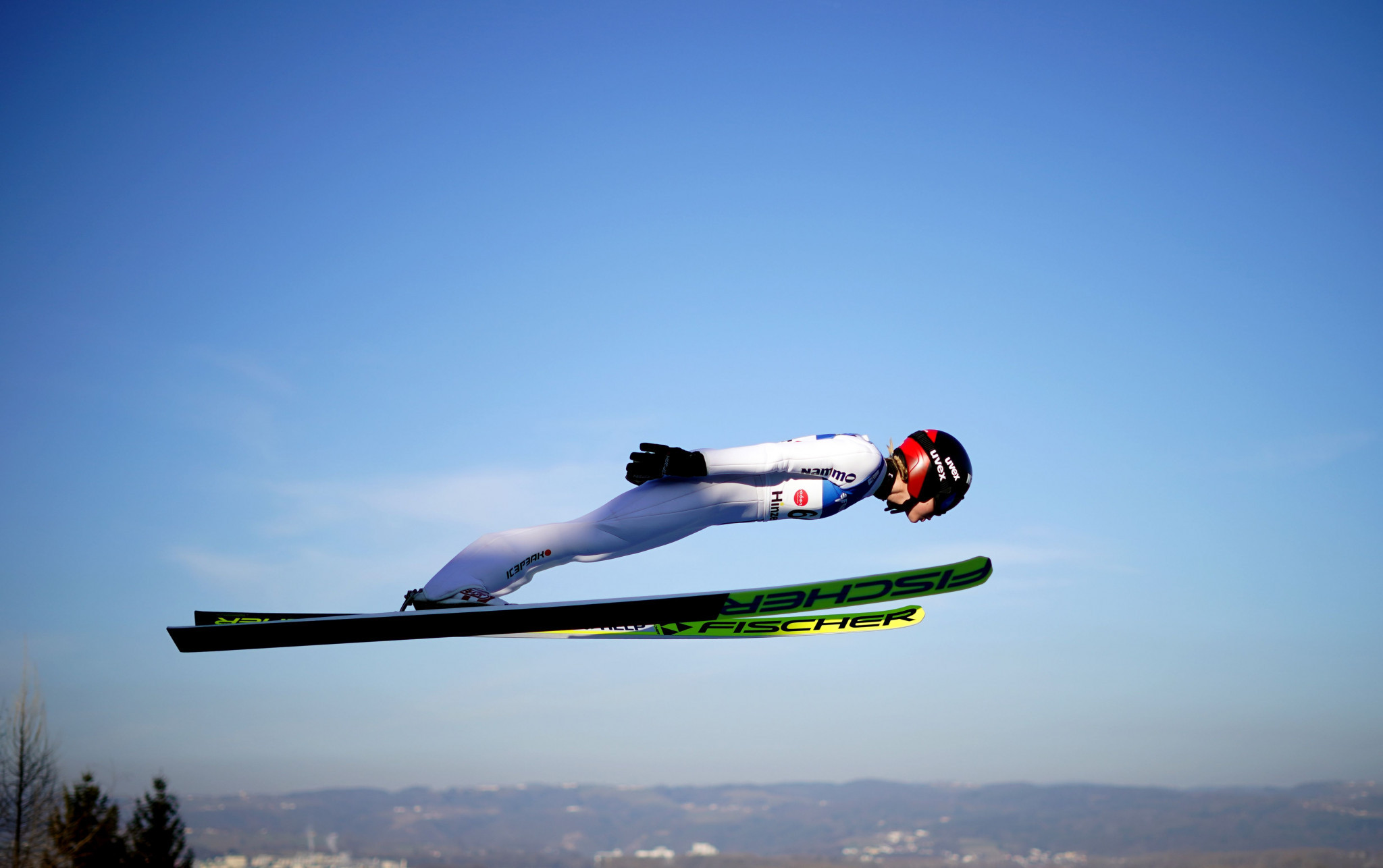 Maren Lundby of Norway just missed out on finishing in the top three during qualifying ©Getty Images