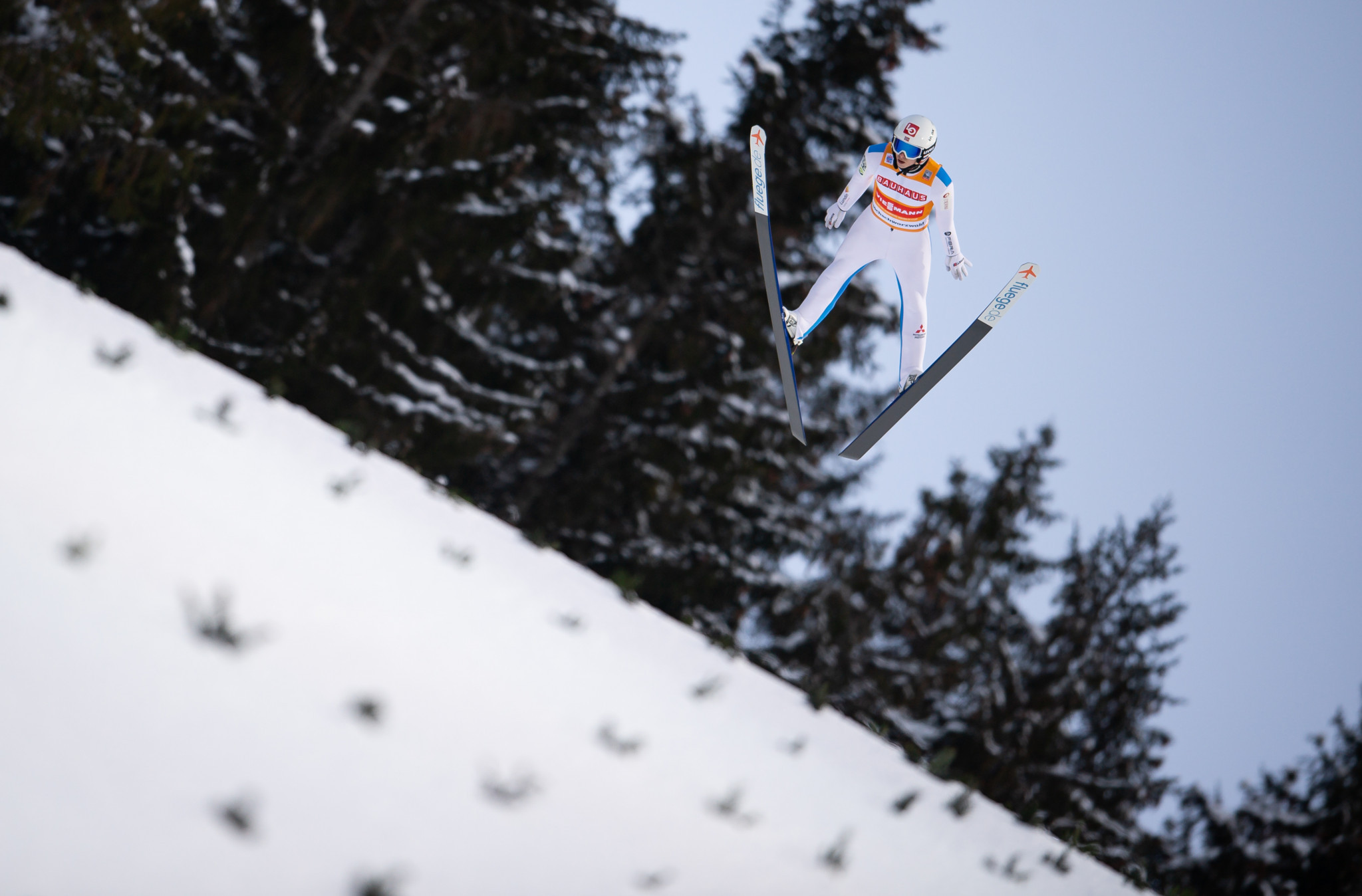 Halvor Egner Granerud is the individual World Cup leader ©Getty Images