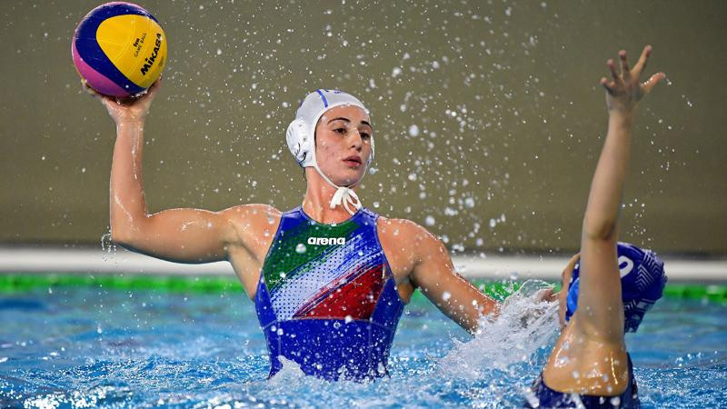 Hungary and Italy to play for Tokyo 2020 women's water polo berth