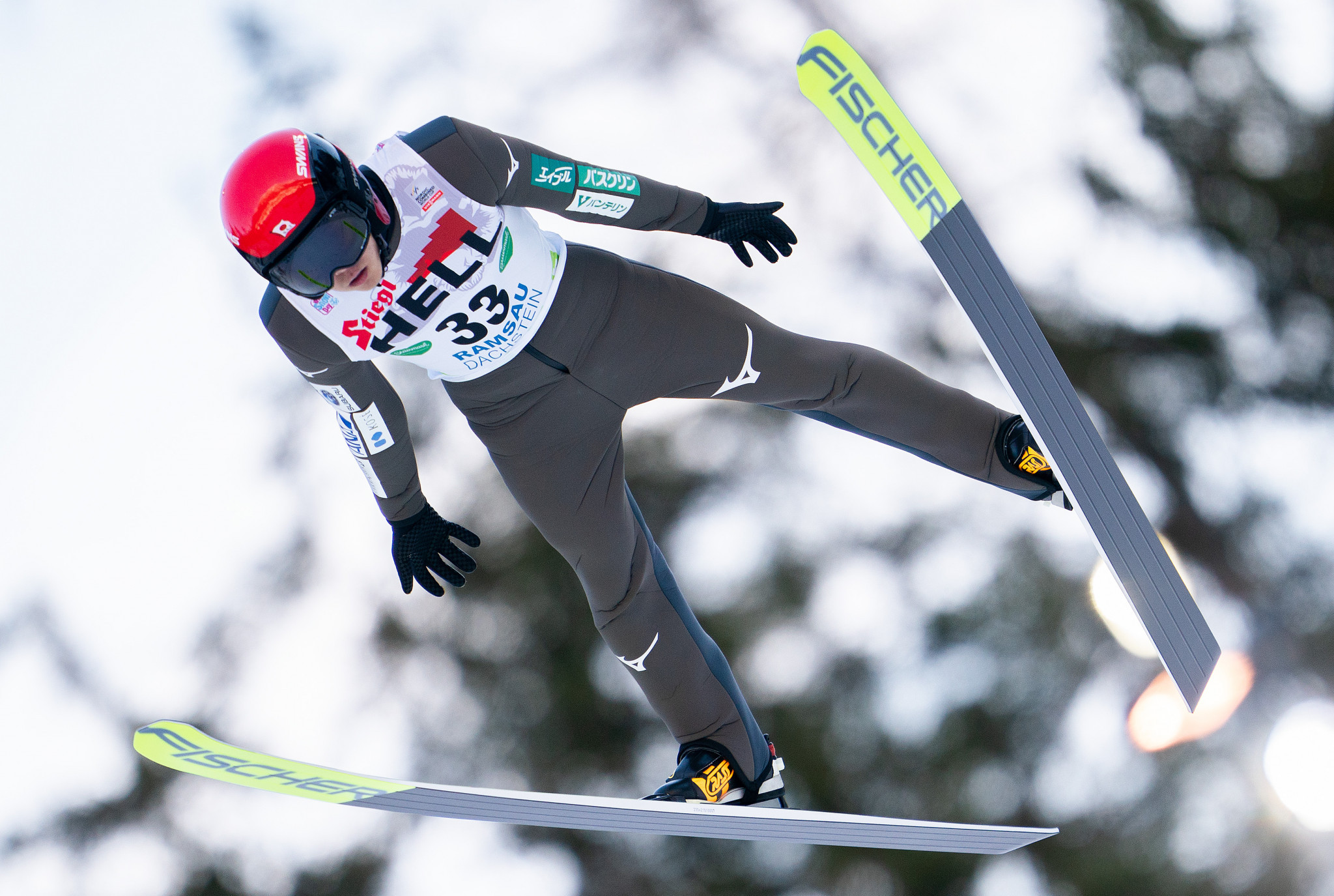 Japanese duo Yamamoto and Watabe in top three of Nordic Combined World Cup qualifying in Lahti