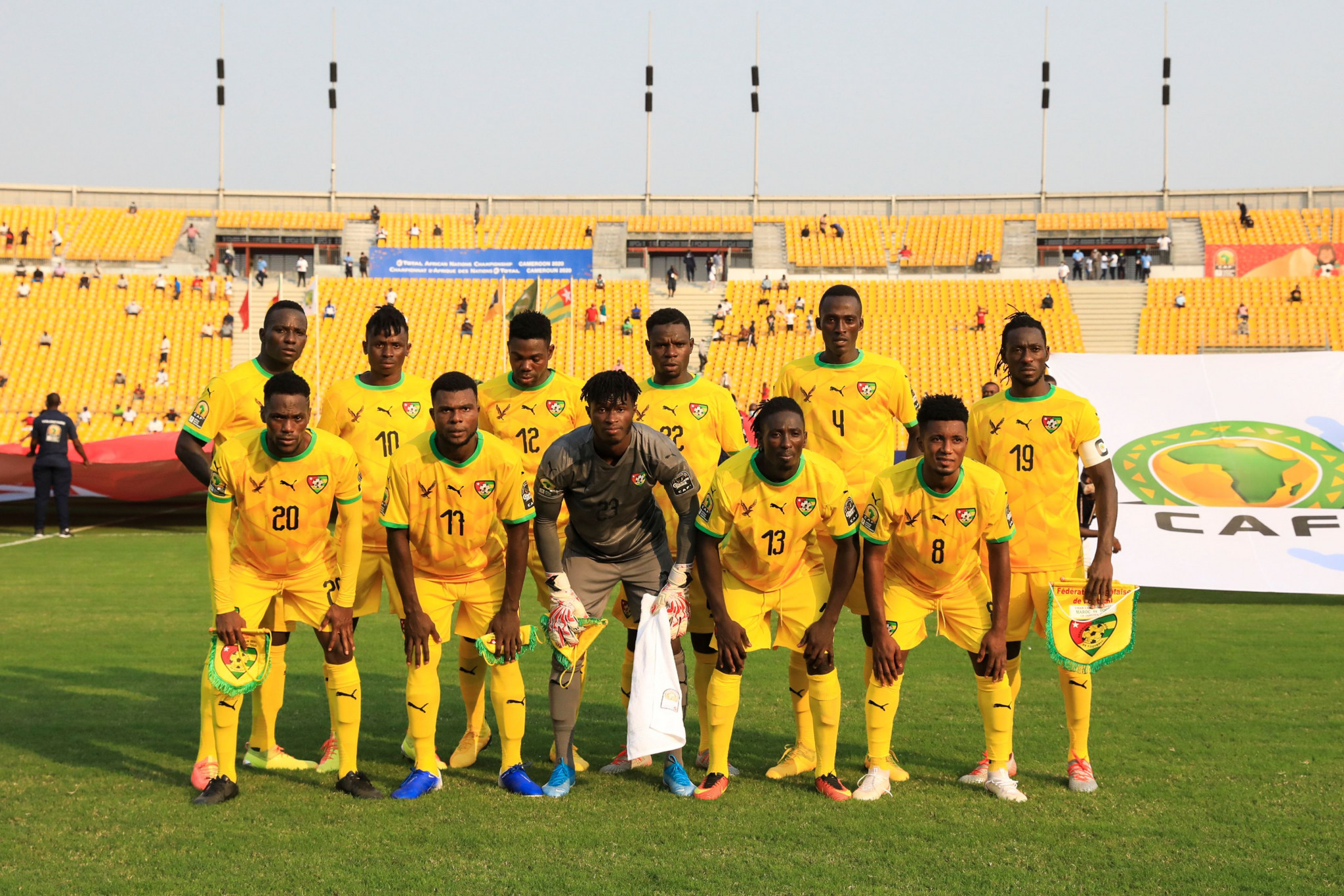 Togo beat Uganda to revive African Nations Championship campaign