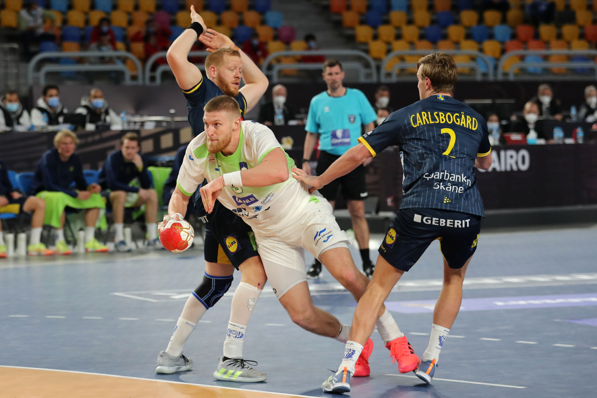 Last-second goal sees Slovenia draw with Sweden at World Men's Handball Championship