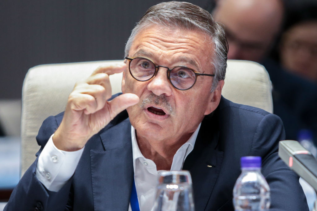 IIHF President René Fasel said the Council would choose either Denmark, Slovakia or Latvia to stage matches that had been due to take place in Minsk ©Getty Images