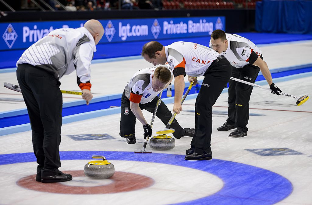 Canada is scheduled to host the World Men's Curling Championship in April ©Getty Images