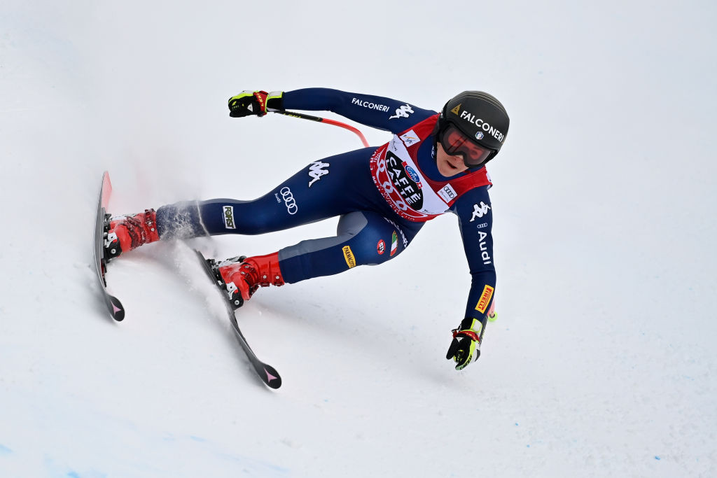 Olympic champion Goggia claims fourth straight downhill win at FIS Alpine World Cup