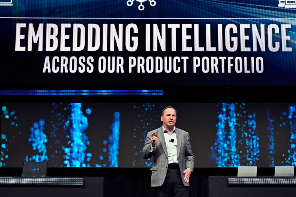 Departing Intel chief executive Bob Swan said the company was in a strong position as he prepares to leave the role
