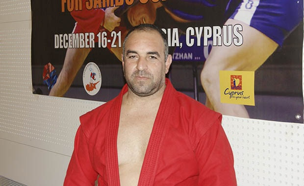 Cypriot Sambo Federation President Marios Andreou has launched the Sambo to School project ©International Sambo Federation