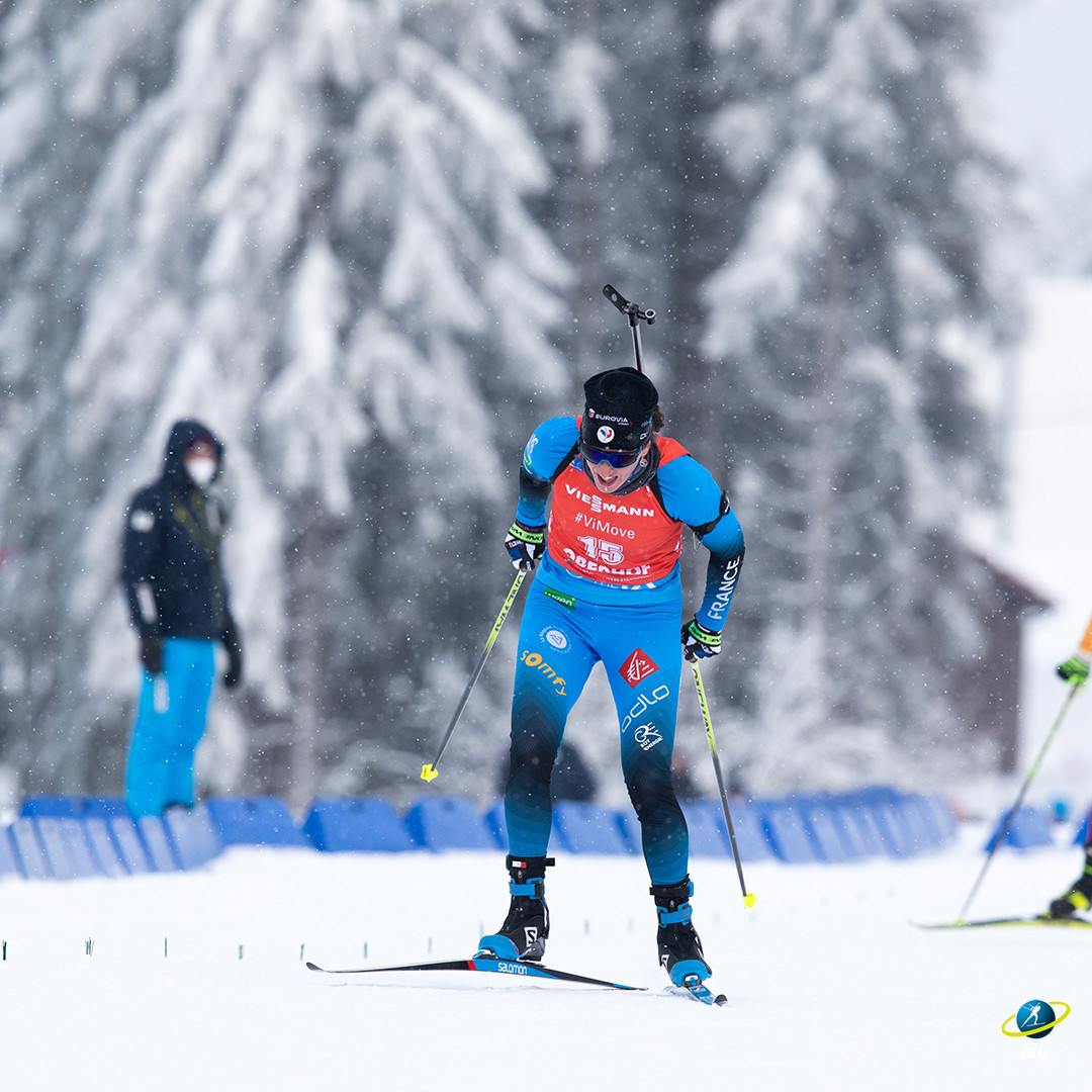 Simon beats Öberg in photo finish at IBU Biathlon World Cup in Antholz-Anterselva