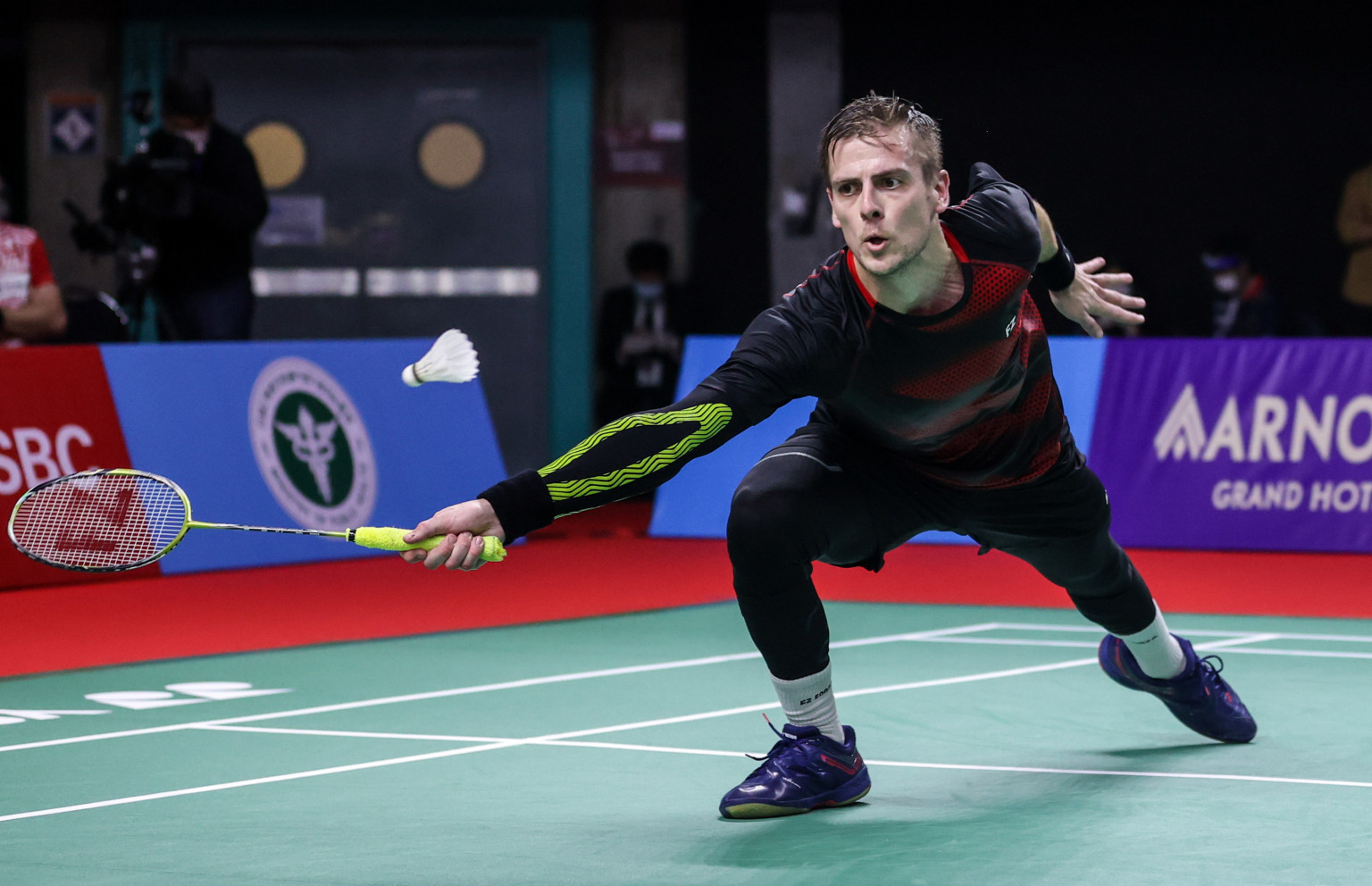 Axelsen and Vittinghus to play in all-Danish final at BWF Toyota Thailand Open