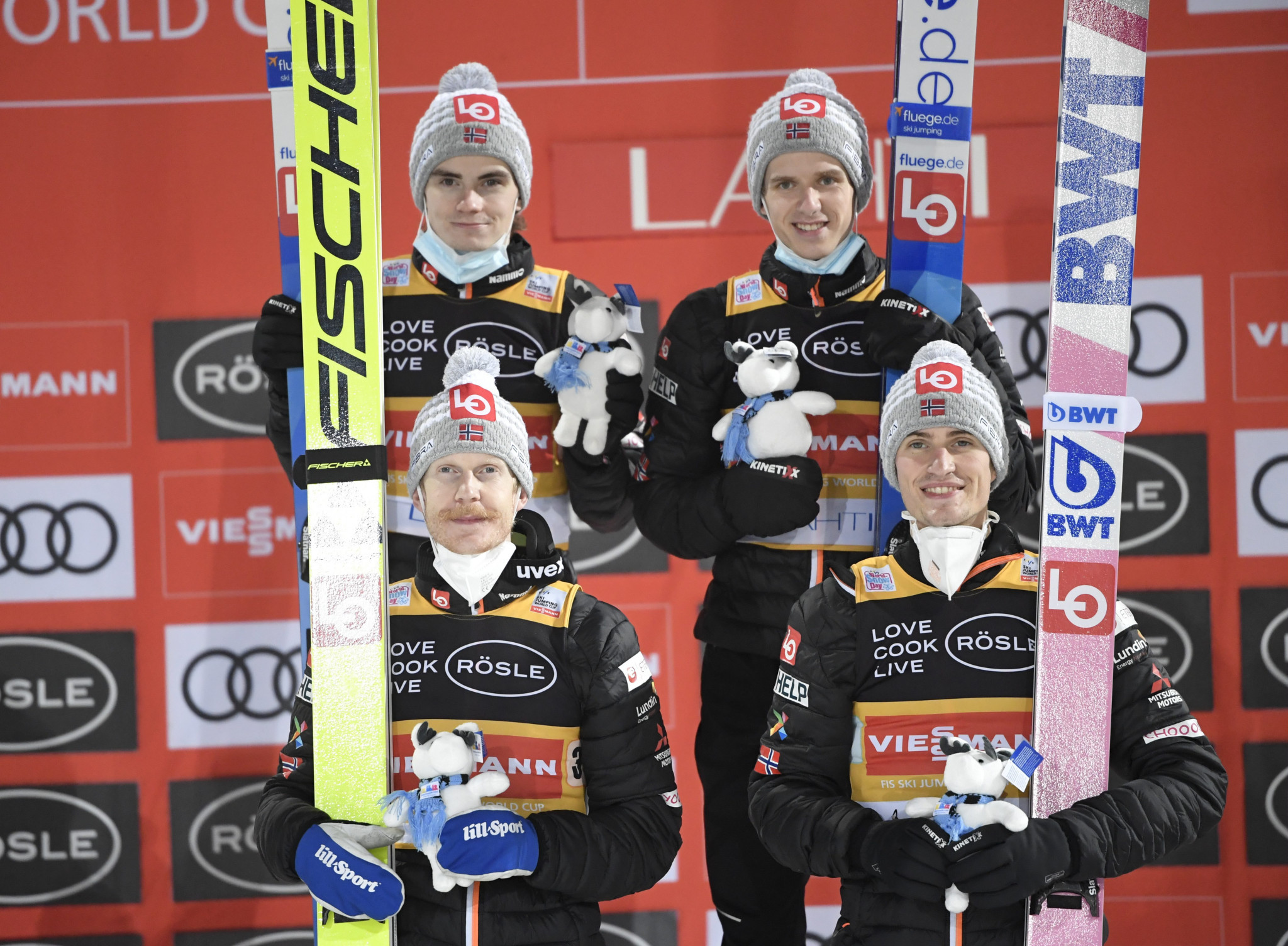 Norway victorious in team contest at Lahti Ski Jumping World Cup
