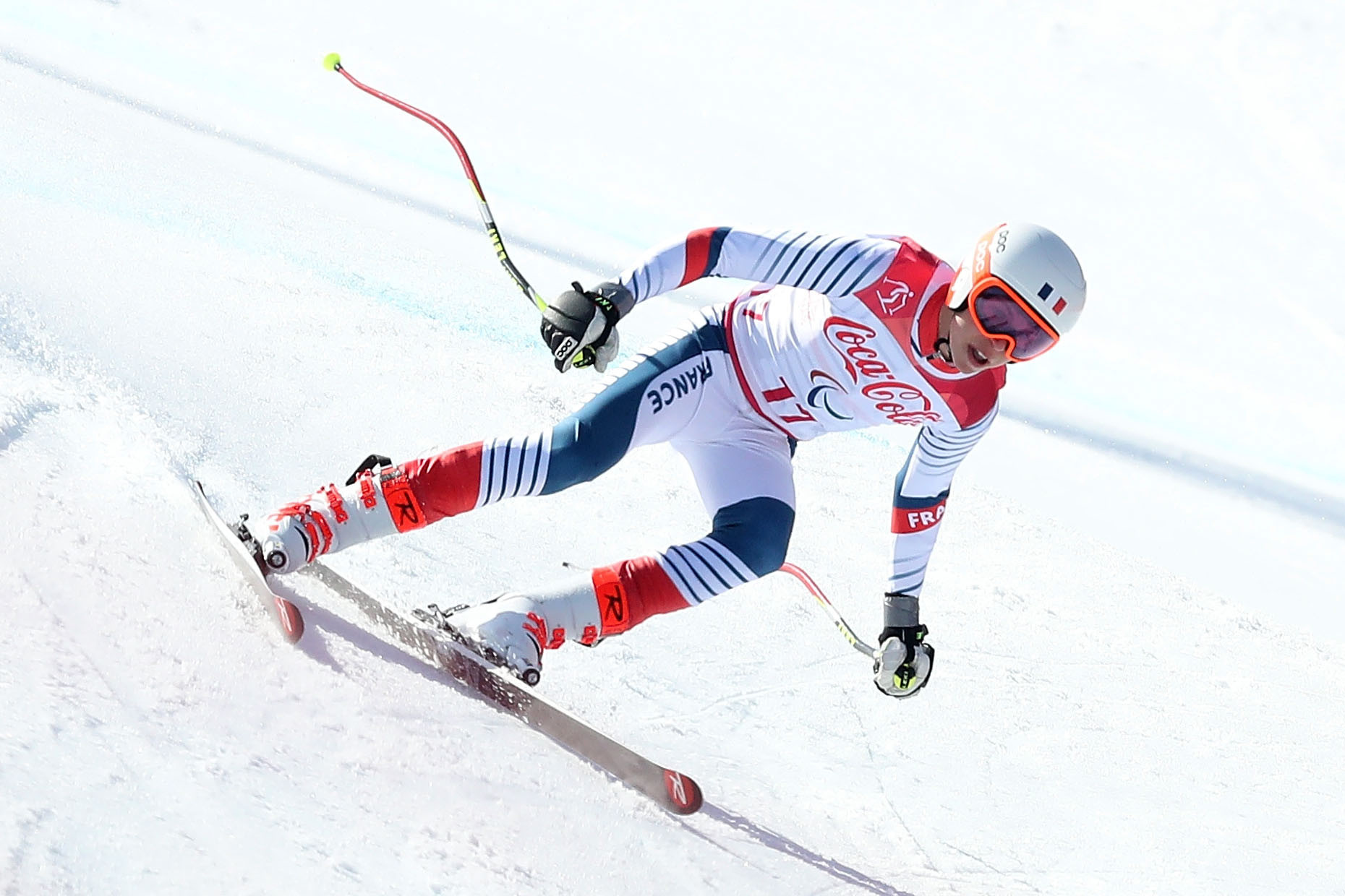 Four wins from four for Aigner and Bauchet at World Para Alpine Skiing World Cup