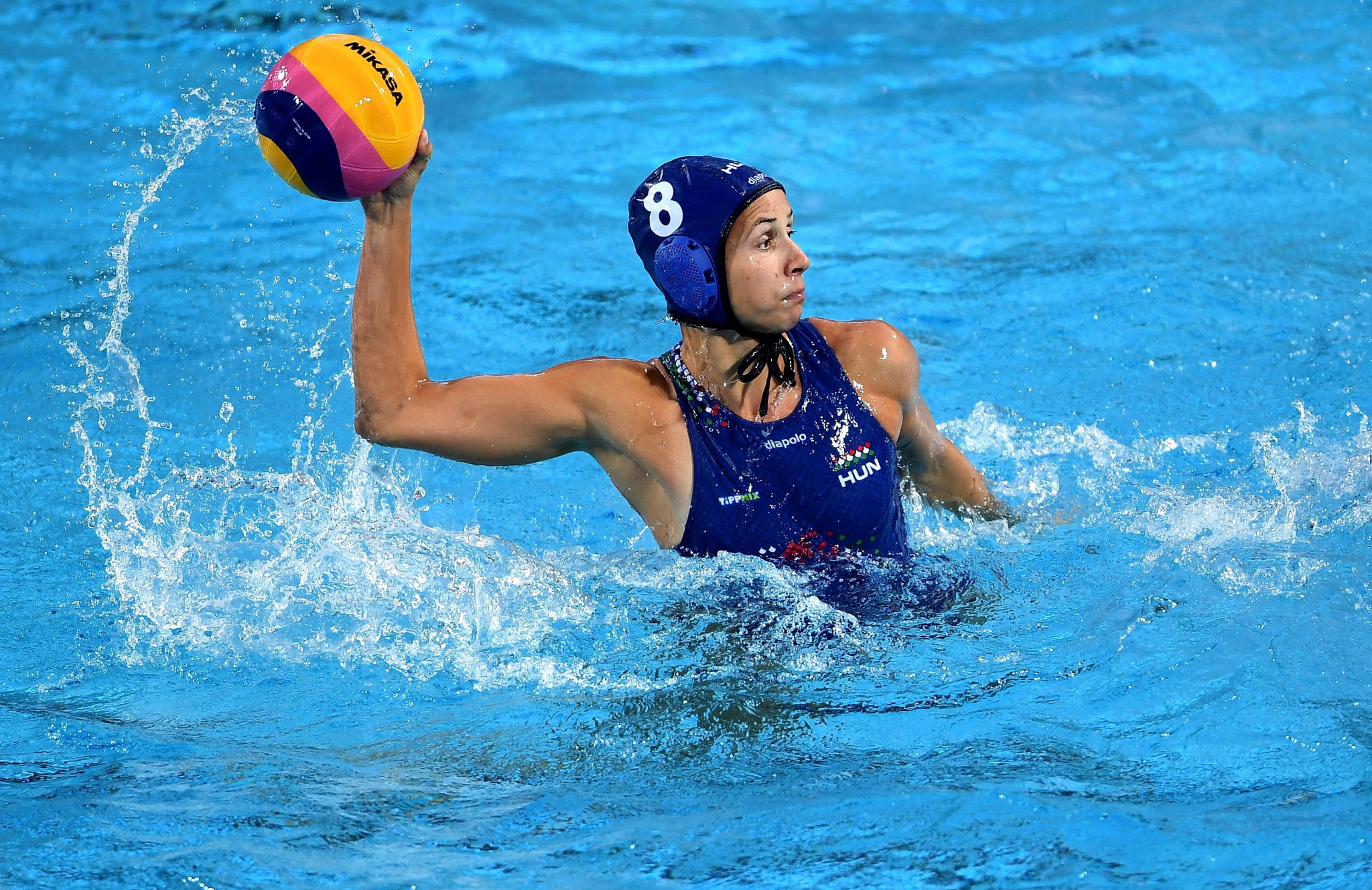 The Netherlands and Hungary qualify for women's Olympic water polo tournament