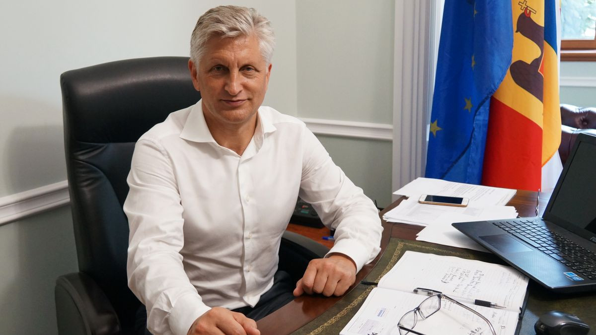 Nicolae Juravschi served as an MP for eight years after being elected as a member of the Liberal Democrat Party in November 2011 ©NOSC