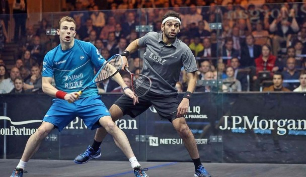 Mohamed Elshorbagy extended his unbeaten run over Nick Matthew to four matches