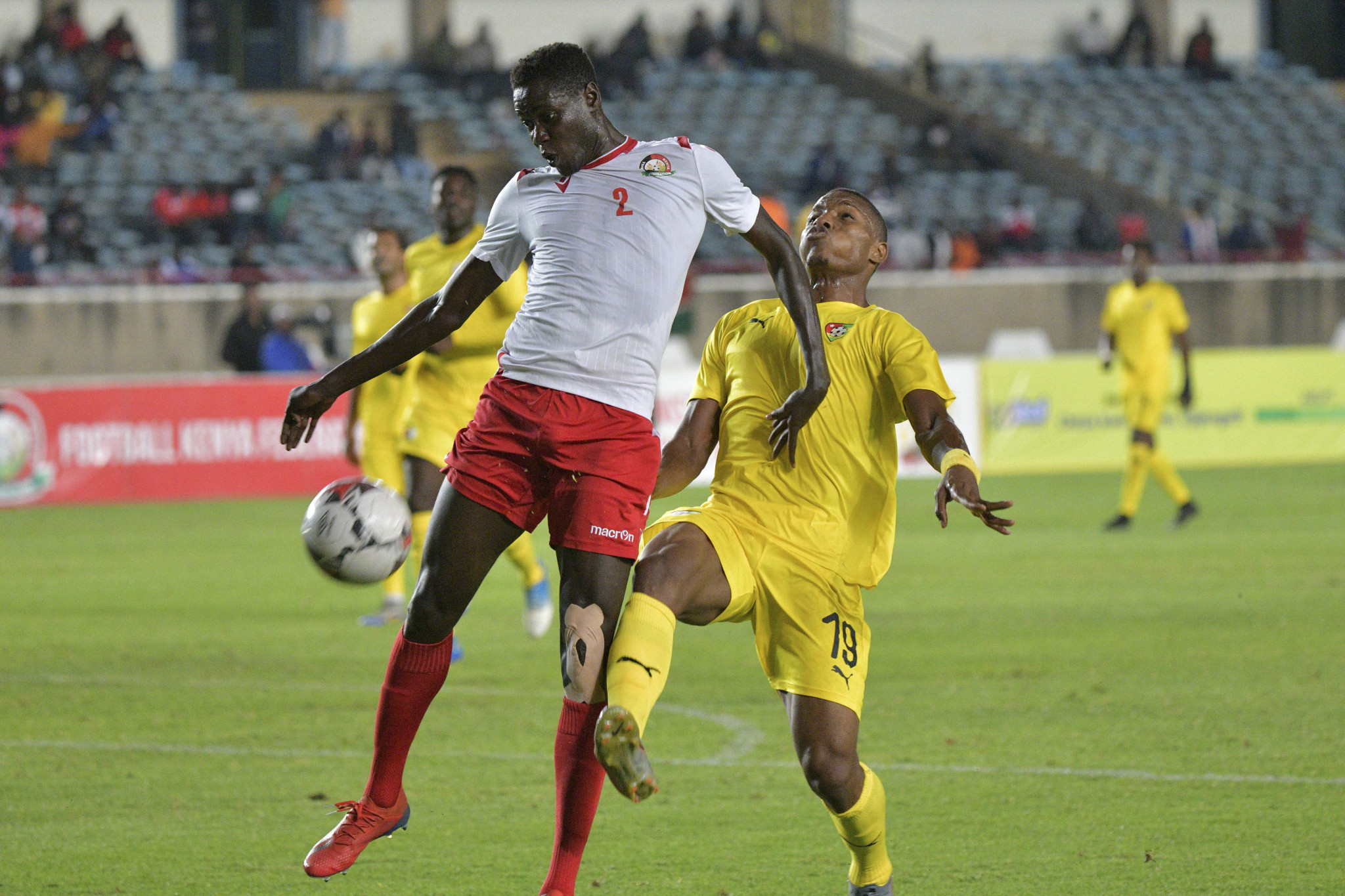CAF sanctions Kenya for fielding players with COVID-19